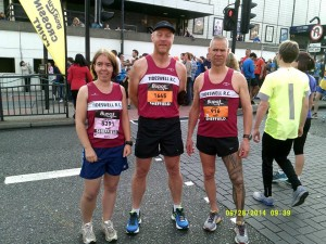 Team TRC at The Great Yorkshire Run