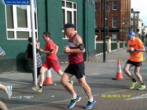 Pete Hawkins at the Great Yourkshire Run