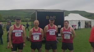 Tideswell Running club Members