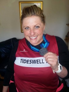 Liz Hill After the Great Yorkshire Run